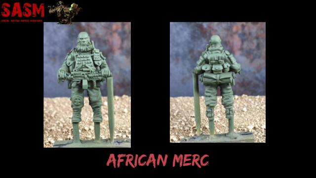 African Mercenaries - Tease